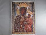 ご絵 キャンパス地 ヤスナグラの聖母 20×15センチA小