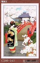 チキュウグリーティングス クリスマスカード c200-243