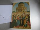 イタリア マリアとヨセフの結婚 封筒カードセット(中無地)