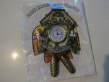 ドイツ鳩時計シカと猟師