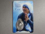 コルカタの聖テレサ プラメダイカード