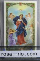 イタリア パウチ 結び目を解く聖母 パウチ11×7センチ
