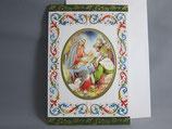 イタリア製 クリスマスカード 定型 聖家族と三賢人0577-2