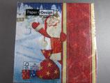 ヨーロッパ高級紙ナプキン  はーいサンタ 60701