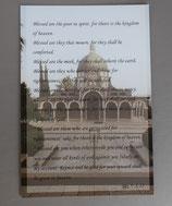 お一人様1枚かぎり イスラエル ガリラヤ湖周辺 山上の垂訓教会 英語大判ポストカード 1910-3