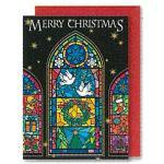 チキュウグリーディングス クリスマスカード S300-44 日本製