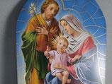 イタリア 壁掛け ご絵 ドーム板絵 聖家族の祈り