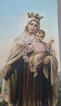 イタリア ご絵 Lippi 15  10×6センチ 紙裏白
