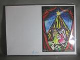 クリスマス会用パンフレット用紙HPC HPD