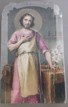 イタリア ご絵 CLARA 5 12.5×7.5センチ 大判飾り縁箔押し 紙裏白