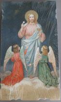 イタリア ご絵 Eucaristina 003 10.7×6センチ 飾り縁箔押し 紙裏白