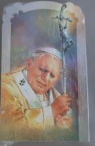 イタリア ご絵 CLARA 11 12.5×7.5センチ 大判飾り縁箔押し 紙裏白