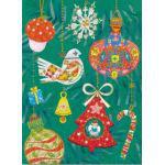 チキュウグリーディングス クリスマスカード S200-132 日本製