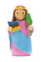 LDW 160002YX   Saint Cecilia statue   聖セシリア