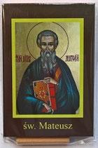 イコン 聖マテウス 聖マシュー 福音書記マタ9