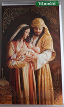 プラハ カラークリスマスカード 聖家族