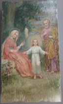 イタリア ご絵 Eucaristina 021 10.7×6センチ 飾り縁箔押し 紙裏白