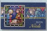 FB NATALE イタリア 新作クリスマスご絵カード&封筒セット 8×13.5センチ裏白 封筒 9×14センチ 定型 421-2