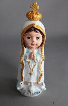 樹脂 かわいい ファティマの聖母さま 8×3センチ