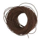 イタリア RO019134 ロザリオ製作用の紐 ドゥ・イット・ユアセルフ・ロザリオ用の茶色の紐(12個のロザリオ)