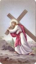 イタリア ご絵 十字架を担うイエス オーロラ27