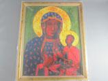 ヤスナグラの聖母 ご絵額 大B  27.5×22×1、3センチ