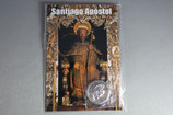 スペイン サンチャゴ デ コンポステーラ カード付き巡礼メダイ 聖ヤコブ丸