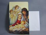 イタリア製 クリスマスカード 定型小型 0398-1