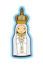 LDW かわいい冷蔵庫用マグネット ファティマの聖母冠 887015