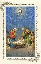 イタリア クリスマスカード二つ折り 73020320 180-10