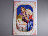 イタリア製 クリスマスカード 定型 聖家族 C1612