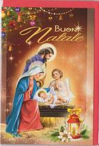 イタリアカード イタリア クリスマス 1018-3