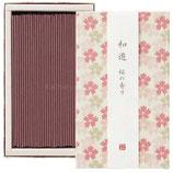 カメヤマキャンドル 20120201 和遊桜の香りのお線香(平箱)