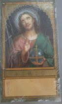 イタリア ご絵 Eucaristina 011 10.7×6センチ 飾り縁箔押し 紙裏白