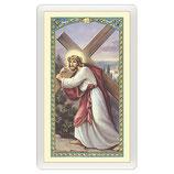 パウチカード イタリア2433Santino Gesù che porta la Croce Nella Malattia ITA 10x5