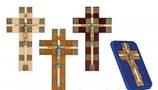 ポーランド 十字架の道行き 木製クロス 大 PL18-B