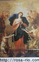 ご絵 ポストカード15.4×10センチ 結び目を解く聖母A 343