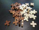 木製十字架 加工用 22ミリ×22ミリ 厚さ5mm