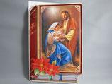 イタリア製 クリスマスカード 定型 聖家族0639-1