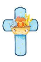 LDW  175259Y    Noah's ark cross  ノアの箱船 クロス