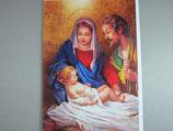 イタリア製 クリスマスカード 定型 聖家族 C1618