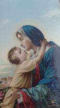 イタリア ご絵 Lippi 9  10×6センチ 紙裏白