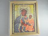 ヤスナグラの聖母 ご絵額 大A  27.5×22×1、3センチ