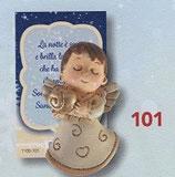 FB NATALE イタリア製 マグネット 天使 1100-101 6、5センチ