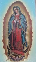 イタリア ご絵 Lippi16 グアタルーペの聖母 10×6センチ 紙裏白