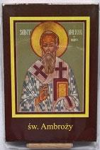 イコン 聖アンブロジウス