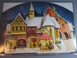 復刻版1955年 アドベントカレンダー 聖夜の街 59091