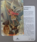 イタリア プラ箔押しカード RCC 66 8.3×5.5センチ 裏面英語祈り