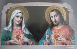 イタリア ご絵 CLARA 34 12.5×7.5センチ 大判飾り縁箔押し 紙裏白