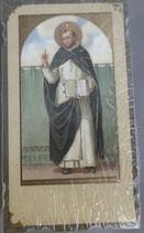 イタリア ご絵 Eucaristina 聖ドミニコ St.Domenico 022 10.7×6センチ 飾り縁箔押し 紙裏白